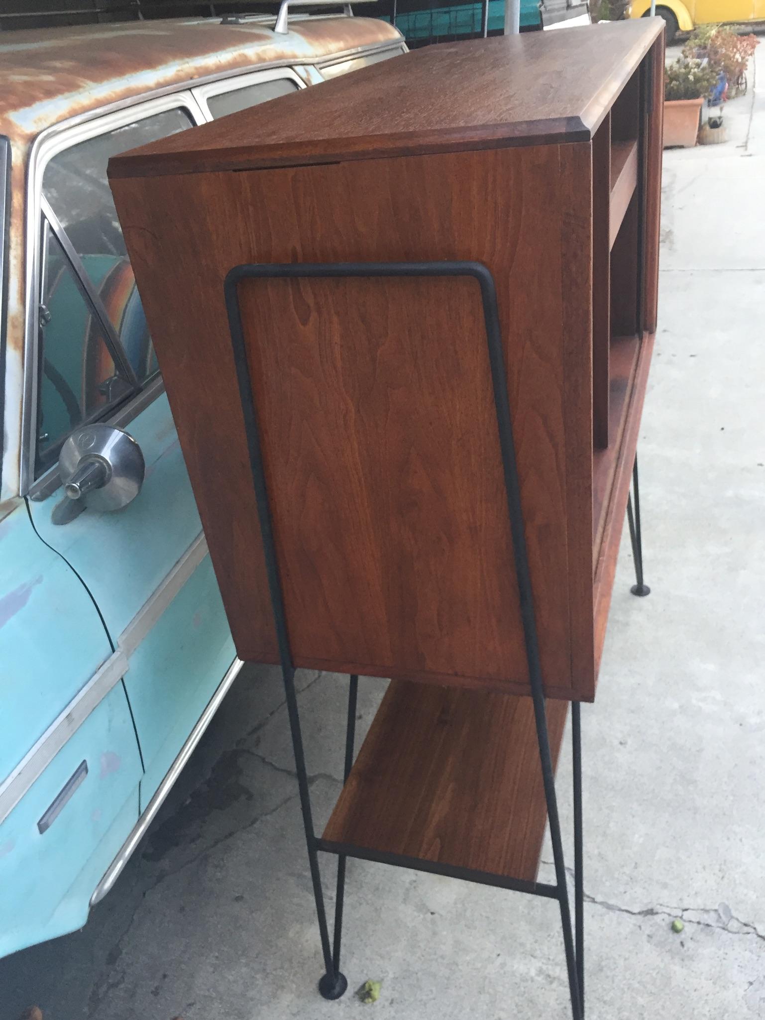 Walnut Barzilay Storage Cabinet Modern Flamingo